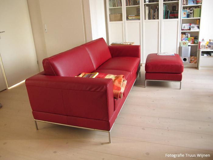Rode Leren Bank Ikea.Leren Bank Ikea