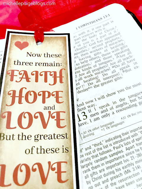 1 Cor. 3:13 Printable Bookmark @michellepaigeblogs.com