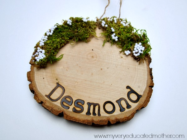 Woodland Charm Ornaments