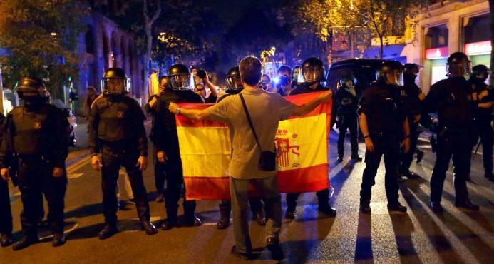 Apoyo internacional a Madrid tras la declaración de independencia de Cataluña