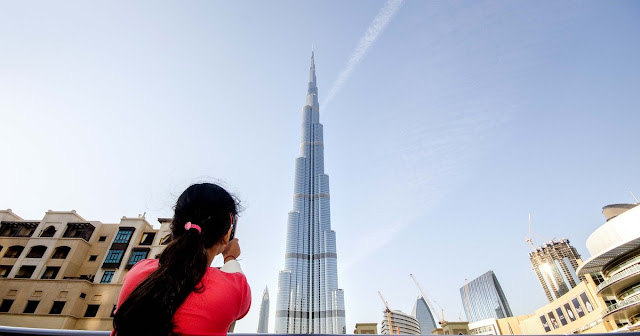 Everyone can See Burj Khalifa