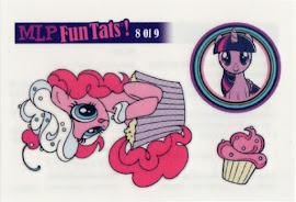 My Little Pony Tattoo Card 8 Equestrian Friends Trading Card