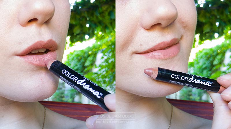 Recenzija Maybelline Color Drama olovke za usne, utisci, cena, 630 nude perfection