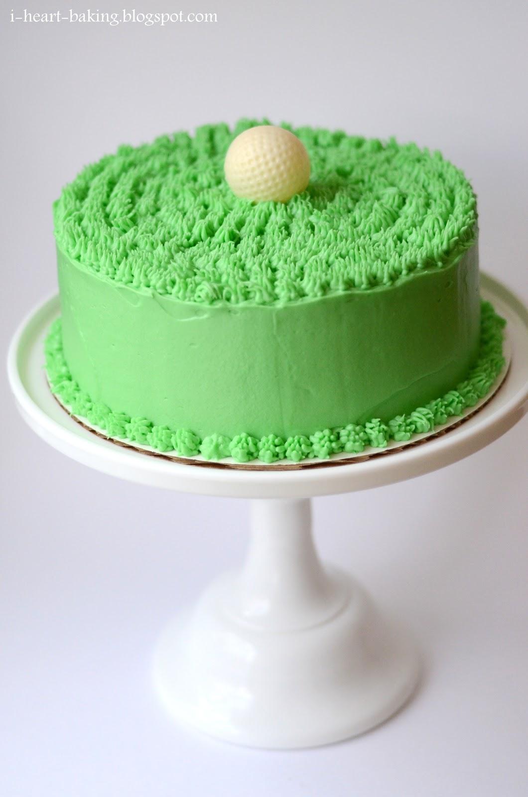 I Heart Baking Another Golf Ball Cake Chocolate Cake