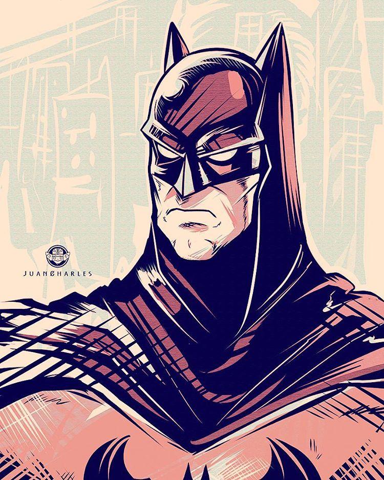Juan Charles Arévalo Batman Ilustración