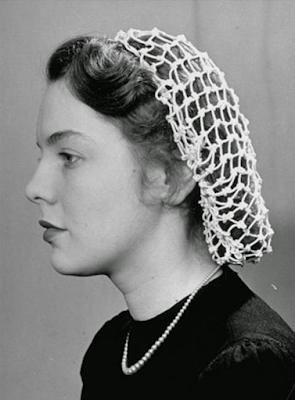Rede no cabelo, anos 40