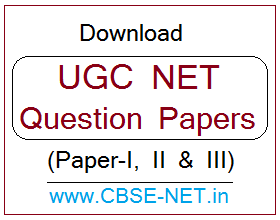 image : UGC NET Question Papers - Paper-I,II&III @ cbse-net.in