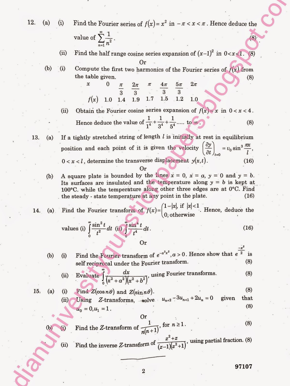 thesis on partial differential equations X partial differential equations legendre polynomials and bessel functions the specific topics to be studied and approximate number of lectures.