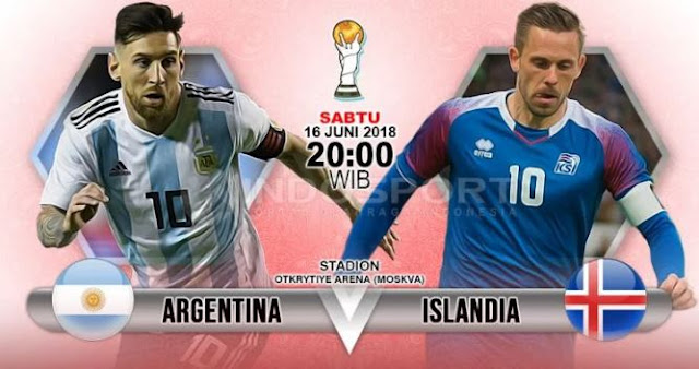 PREDIKSI PERTANDINGAN PIALA DUNIA 2018 ARGENTINA VS ISLANDIA