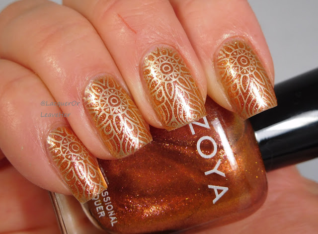 UberChic Beauty Radiate Love over Zoya Nadia