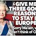 Dicen que la Reina pregunta tres buenas razones para permanecer en la Unión Europea