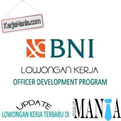 Lowongan Kerja ODP Manager Bank BNI 2016