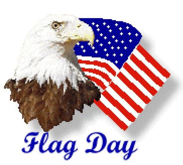Flag Day  - Craft- Clipart-Sketch- Drawing- Printable Card and Coloring Page for Children