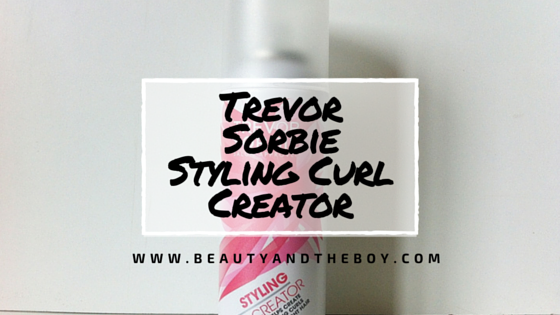 Trevor Sorbie Styling Curl Creator Review
