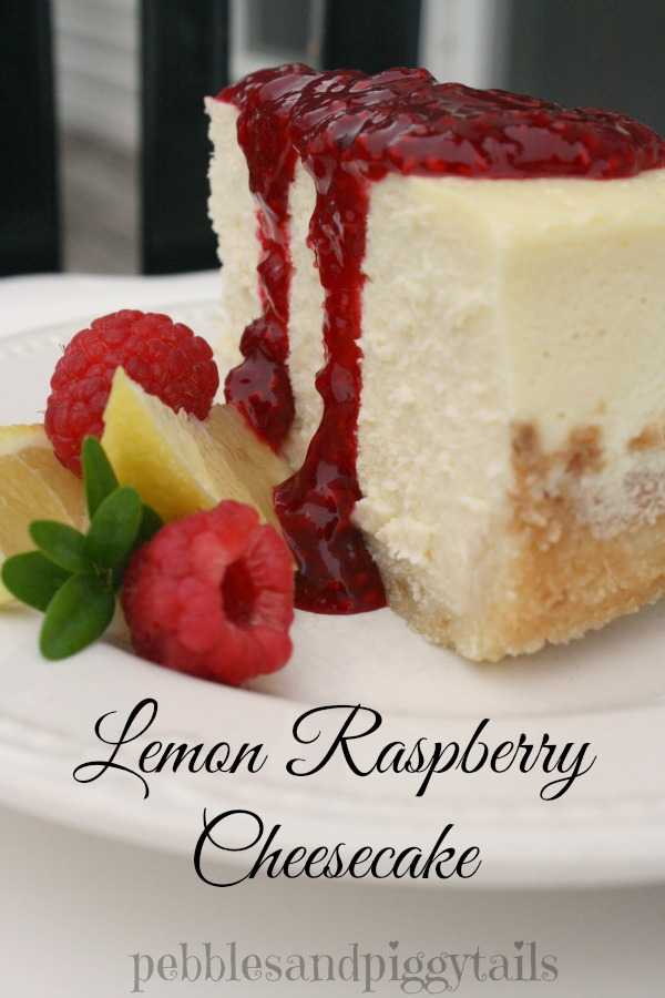 Raspberry Lemon Cheesecake Recipe Tutorial Making Life Blissful