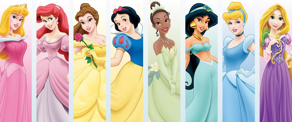 dibujos ideia criativa desenho princesas disney coloridos