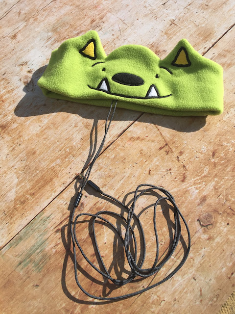 WhatIf Monster CozyPhones Kids' Soft Headphones