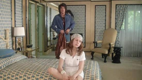 Carrie Fisher-Warren Beatty- Shampoo 1975