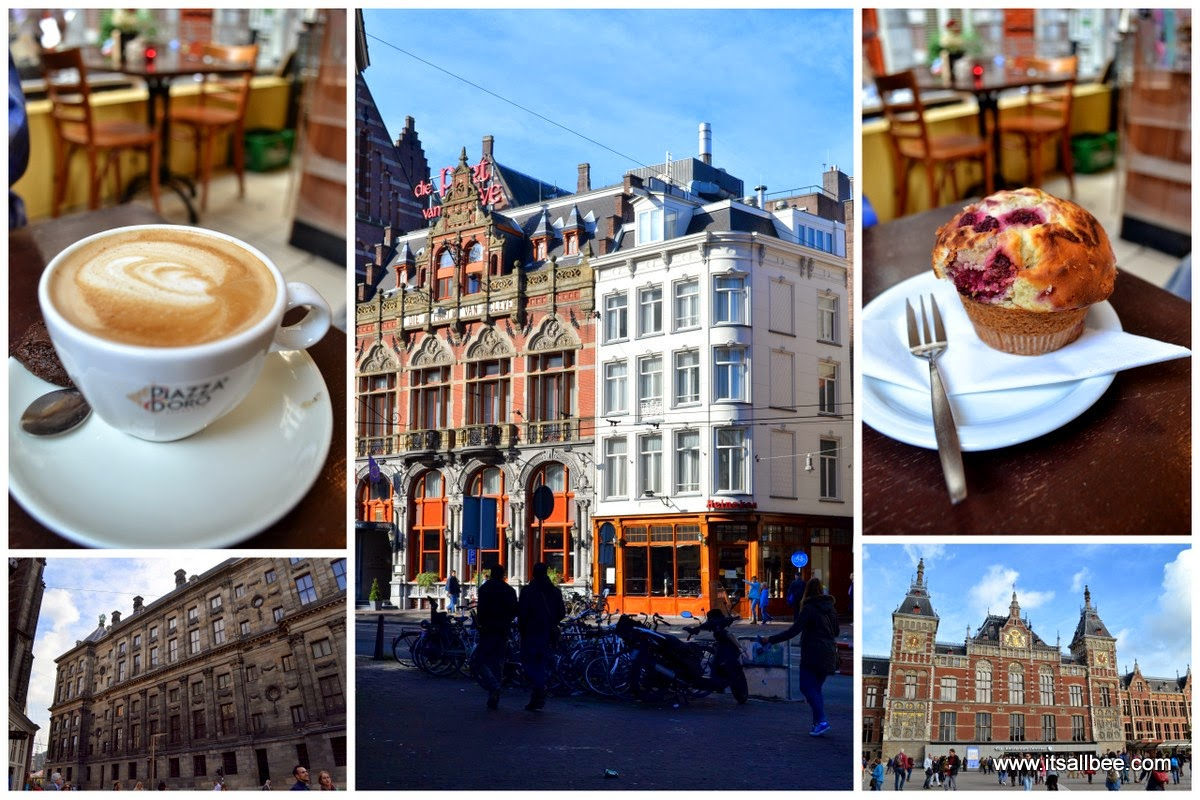 Amsterdam Cafe Dam Square