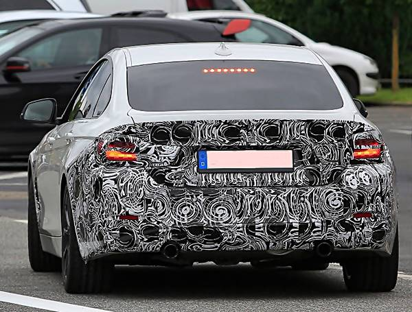 2017 BMW 4 Series Gran Coupe Facelift Spied Testing review, redesign, release date, engine, price, performance
