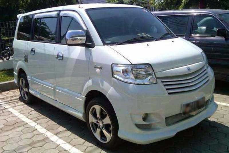 Galeri Modifikasi Mobil Suzuki APV Terbaru  Modif Motor Mobil