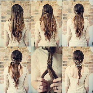 Foto Gambar Cara Mengikat Rambut