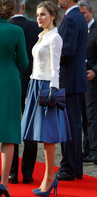 Queen Letizia - Queen Mathilde