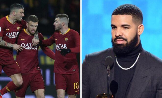 Club ya AS Roma Imewafungia Wachezaji Wake Kupiga Picha na Drake