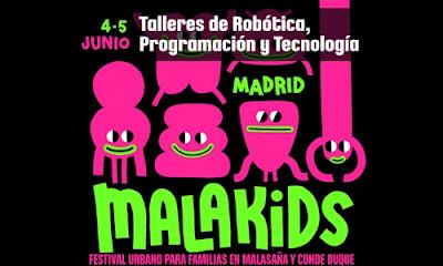 Talleres de Robótica y Tecnología en Malakids
