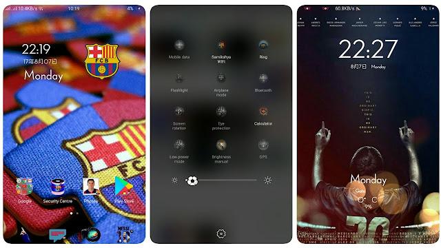 OPPO (ColorOs) Theme : FC Barcelona