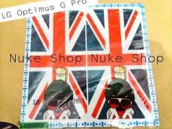 garskin, skin, skotlet, stiker, gambar tempel, handphone LG Optimus G Pro Bendera Amerika