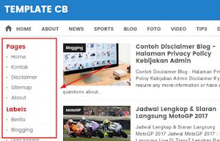 adicionando coluna lateral esquerda no blogger