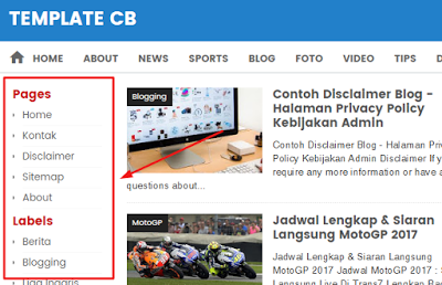 Como adicionar coluna na barra lateral esquerda do Blogger