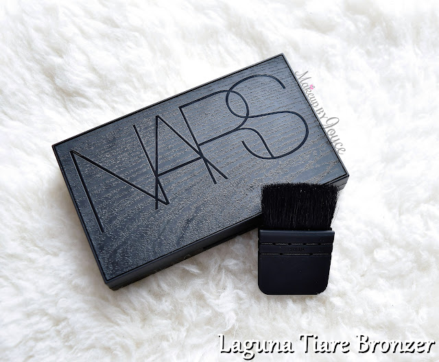 NARS Tahiti Bronze Collection 2016 Laguna Tiare Bronzer Limited Edition Wood Packaging Review