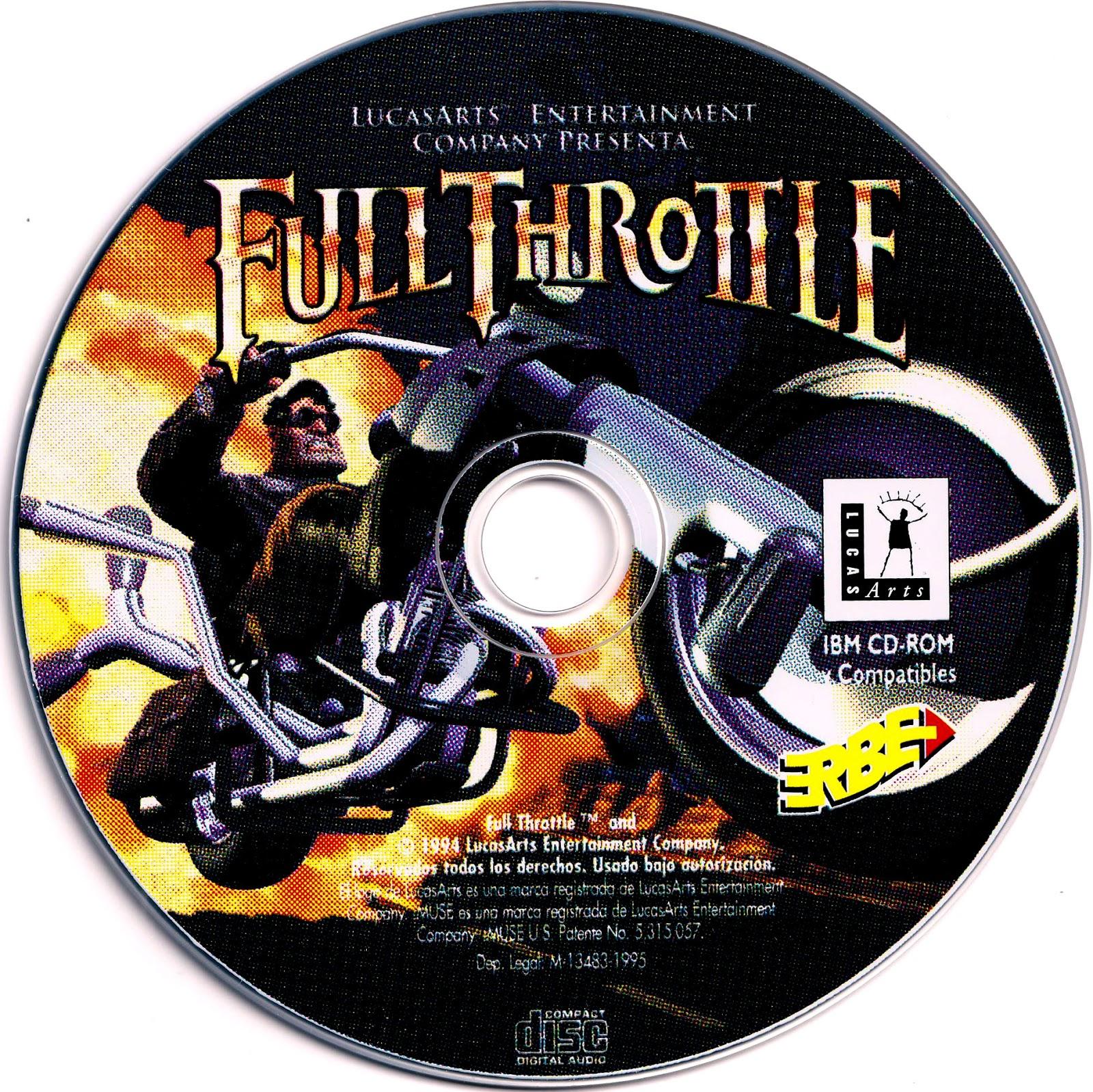 Full Throttle PC CD