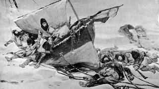 Las duras condiciones de la expedición en el Ártico canadiense