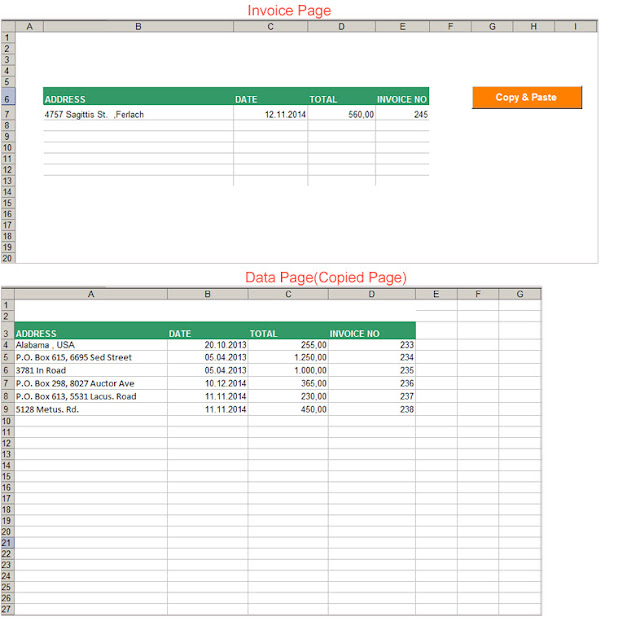 excel vba copy paste