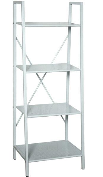 Muebles de forja mayo 2016 for Estanteria bano blanca