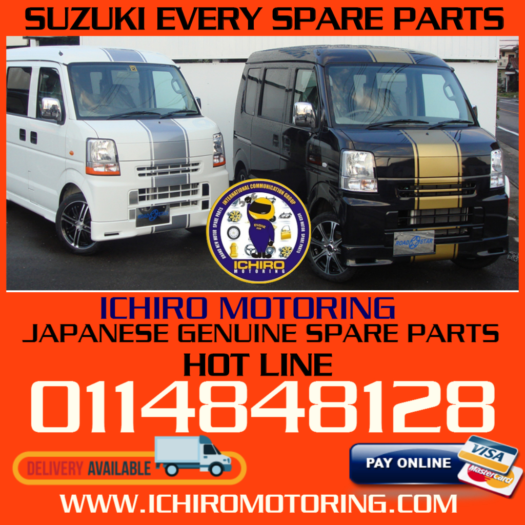JAPANESE MOTOR SPARE PARTS : SUZUKI EVERY SPARE PARTS AVAILABLE