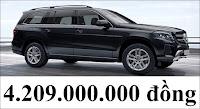 Giá xe Mercedes GLS 350 d 4MATIC 2019