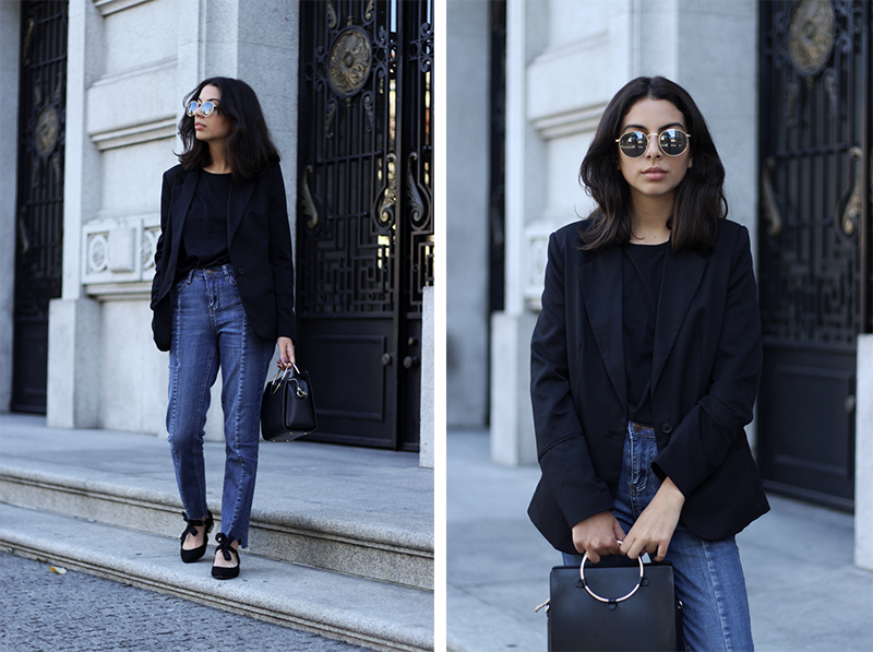 Black Blazer And Jeans