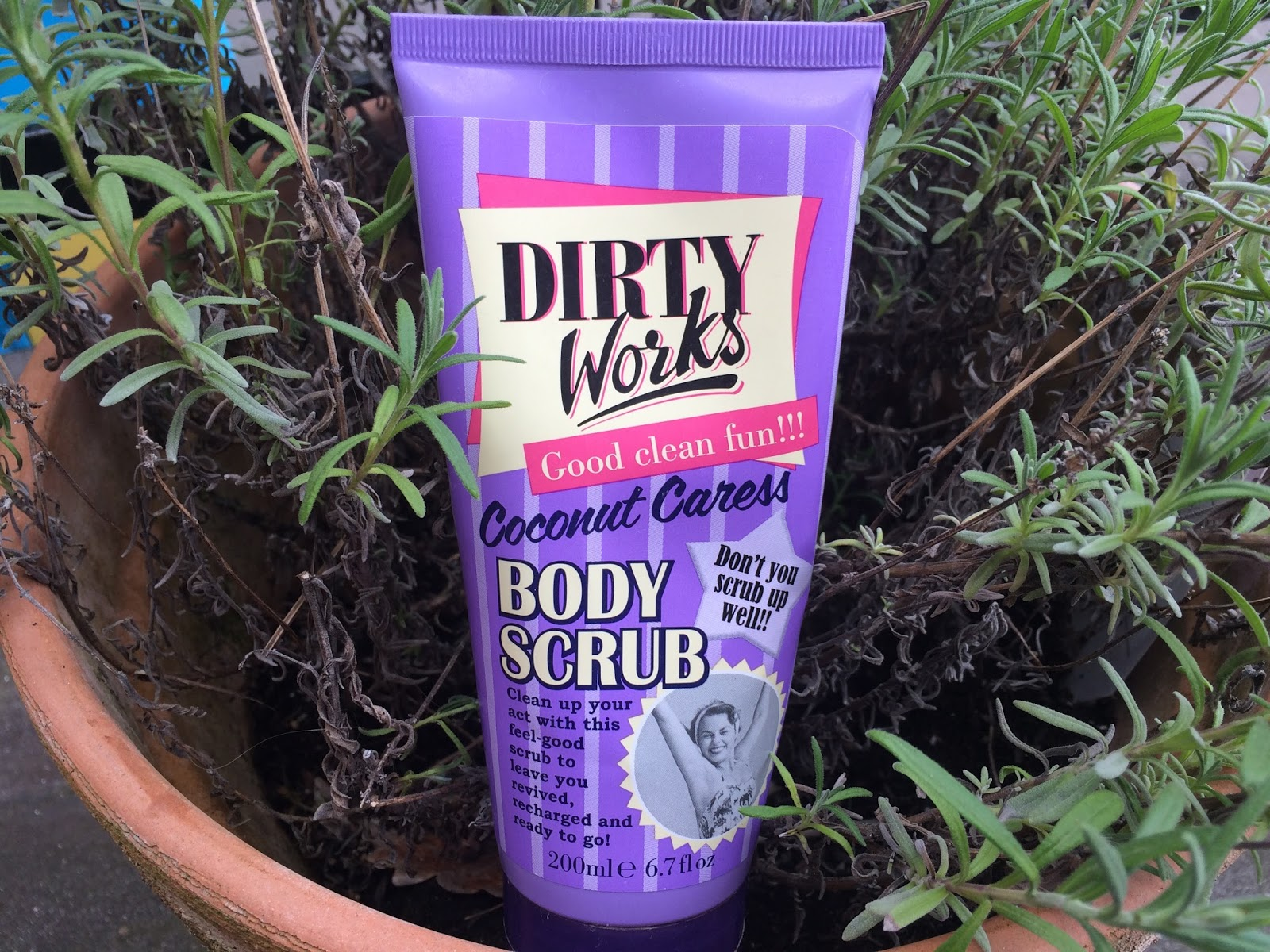 Dirty Works Coconut Caress Body Scrub