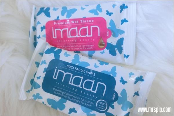 Imaan Premium Wet Tissue & Imaan Suci Facial Wipes