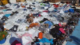 Συνελήφθησαν στην Πιερία 12 άτομα και κατασχέθηκαν πάνω από 49.000 είδη παρεμπορίου