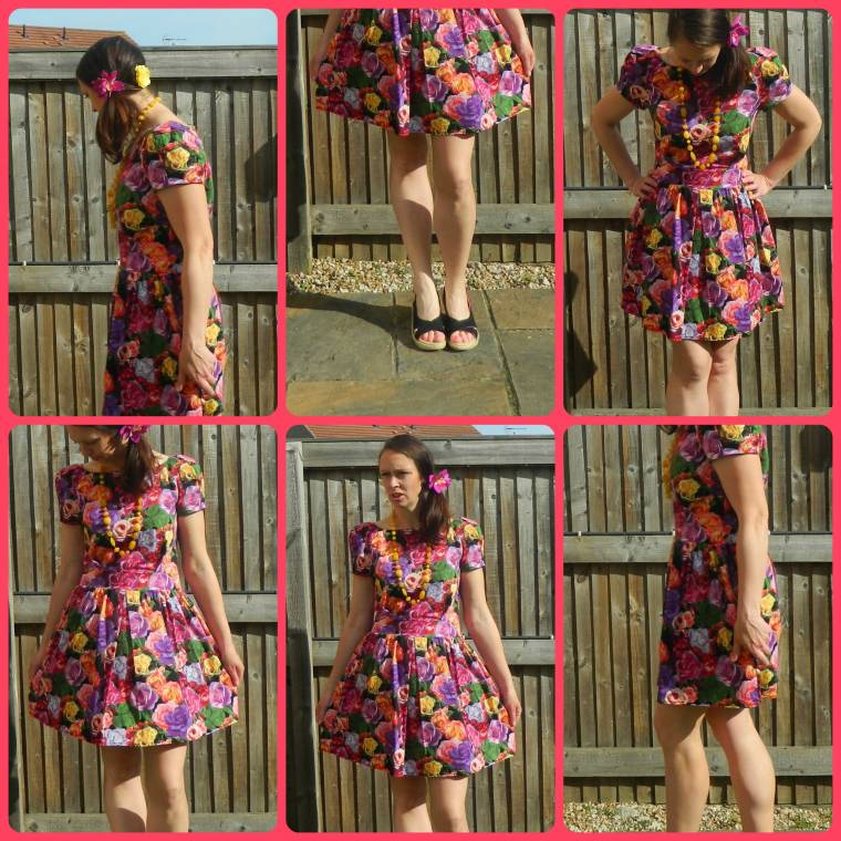 Flower In My Hair And On My Dress: Over 40 Style