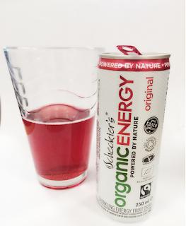 Scheters OrganicEnergy, Energy Drink, Guarana, Organic Drinks, Organic September
