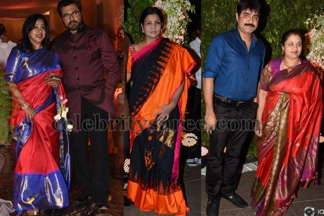Celebrities at Srija Wedding Reception