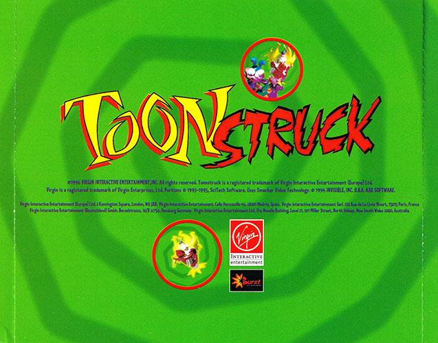 Toonstruck PC Estuche CDs 2