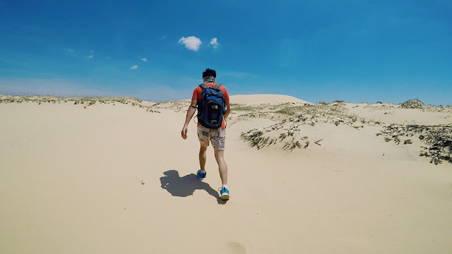 "Sand Dunes In Quang Binh - Where You Can ""Chill"" With ""Sahara Version Vietnam"" 2"