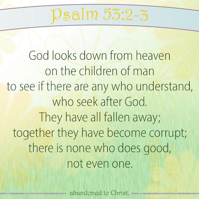 #PsalmSunday: Psalm 53